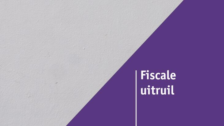 Fiscale uitruil kosten