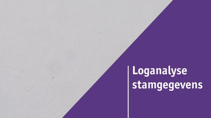 Loganalyse stamgegevens